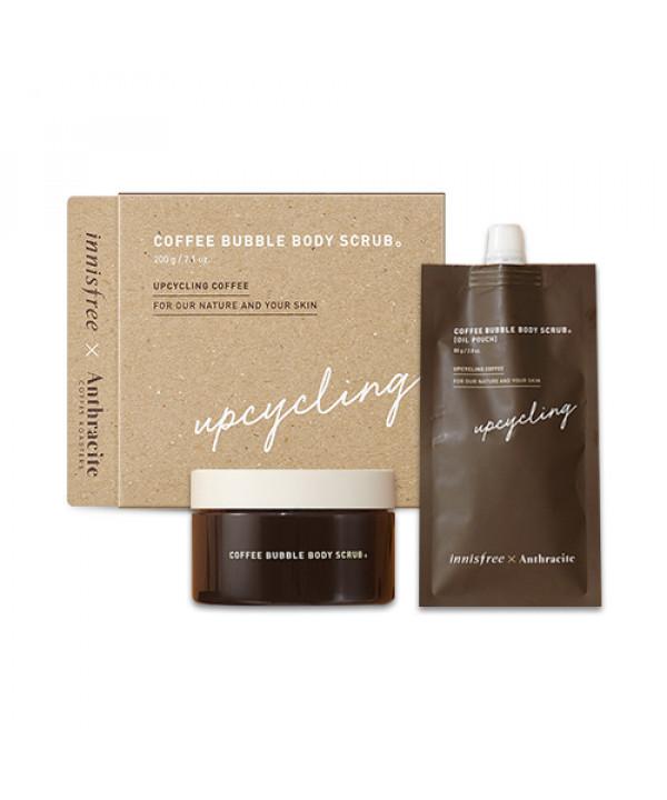 [INNISFREE] Coffee Bubble Body Scrub - 1pack (2items)