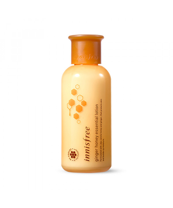 [INNISFREE] Ginger Honey Essential Lotion - 160ml