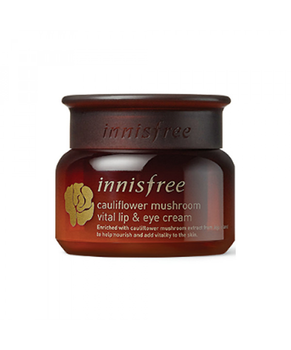 [INNISFREE_45% SALE] Cauliflower Mushroom Vital Lip & Eye Cream - 30ml