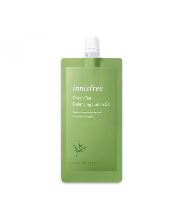 [INNISFREE] Green Tea Balancing Lotion EX (Pouch) - 10ml