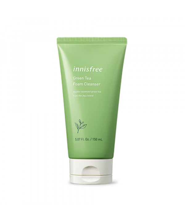 [INNISFREE] Green Tea Foam Cleanser (2019) - 150ml