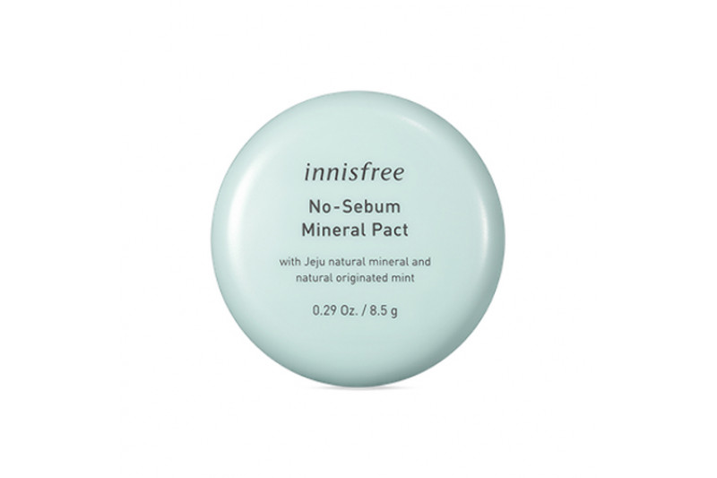 [INNISFREE] No Sebum Mineral Pact - 8.5g