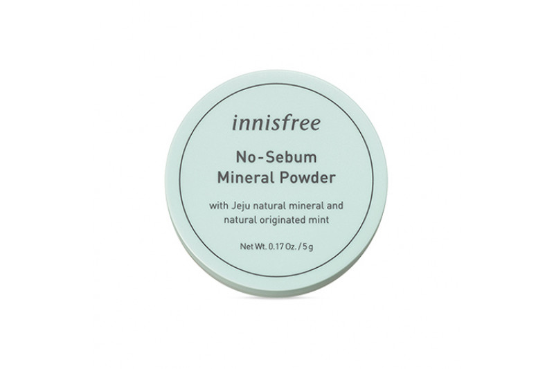 [INNISFREE] No Sebum Mineral Powder - 5g
