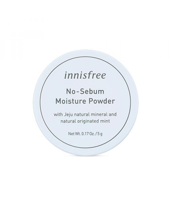 [INNISFREE] No Sebum Moisture Powder - 5g (New)