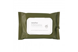 [INNISFREE] Olive Real Cleansing Tissue (2019) - 1pack (30pcs)