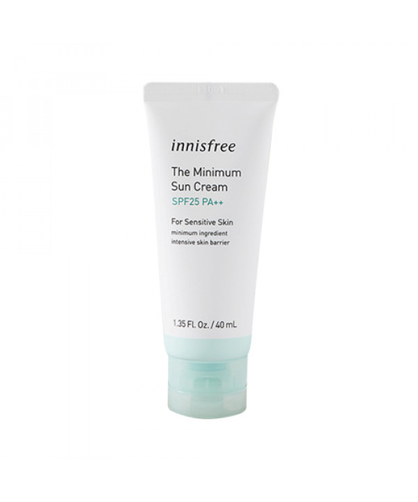 [INNISFREE] The Minimum Sun Cream (2019) - 40ml (SPF25 PA++)