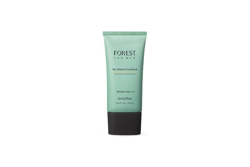 [INNISFREE] Forest For Men No Sebum Sunblock - 70ml (SPF50+ PA++++)