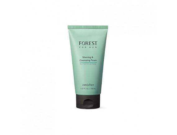 [INNISFREE] Forest For Men Shaving & Cleansing Foam (2019) - 150ml