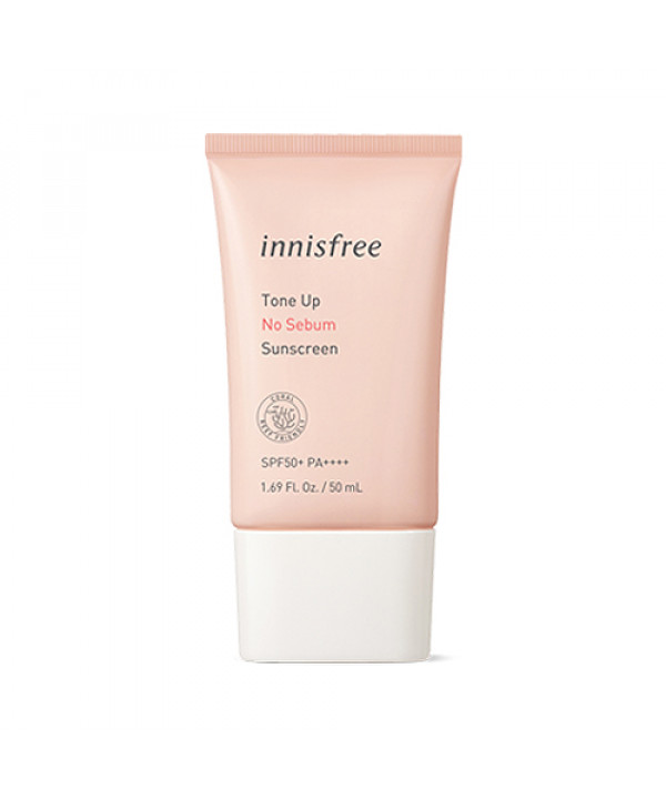 [INNISFREE] Tone Up No Sebum Sunscreen - 50ml (SPF50+ PA++++)