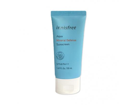 [INNISFREE] Aqua Mineral Defense Sunscreen (2020) - 50ml (SPF48 PA+++)
