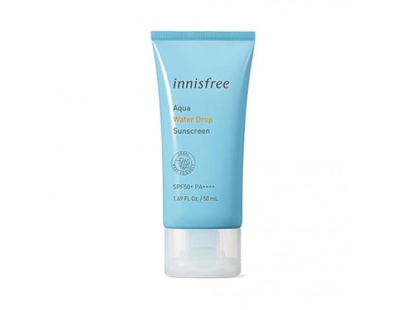 [INNISFREE] Aqua Water Drop Sunscreen (2020) - 50ml (SPF50+ PA++++)