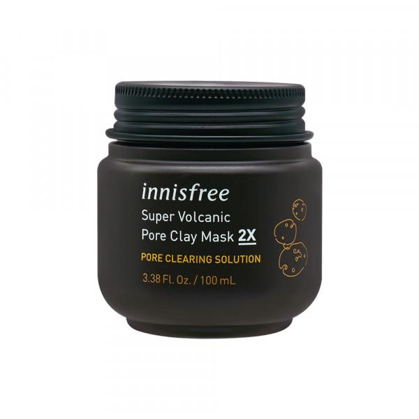 [INNISFREE] Super Volcanic Pore Clay Mask 2X (2020) - 100ml