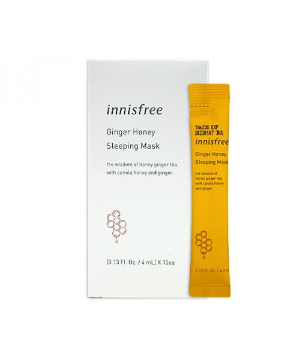[INNISFREE] Ginger Honey Sleeping Mask (2020) - 1pack (15pcs)