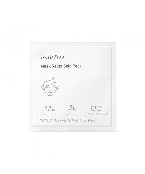 [INNISFREE] Mask Relief Skin Pack - 1pack (1use)