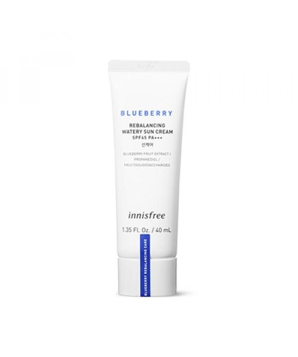 [INNISFREE] Blueberry Rebalancing Watery Sun Cream - 40ml (SPF45 PA+++)