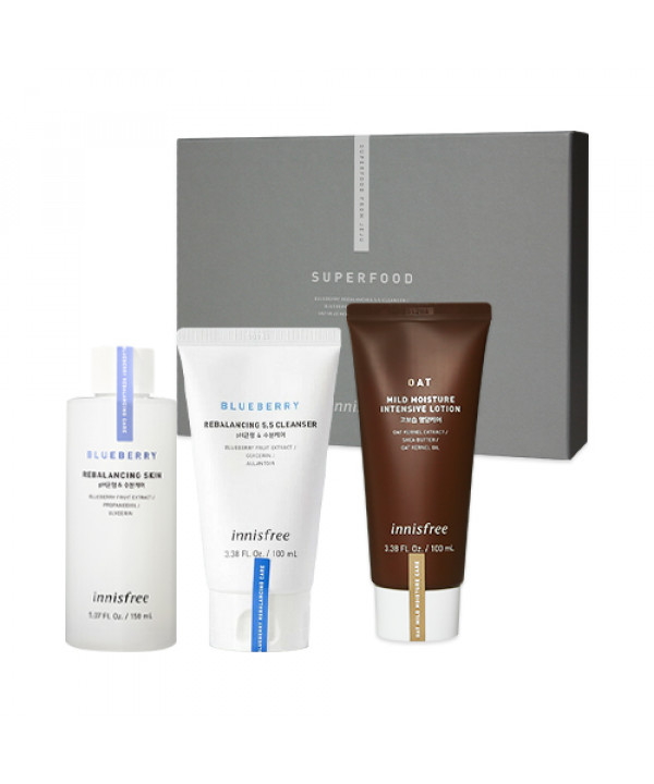[INNISFREE] Superfood From Jeju Best Set - 1pack (3items)