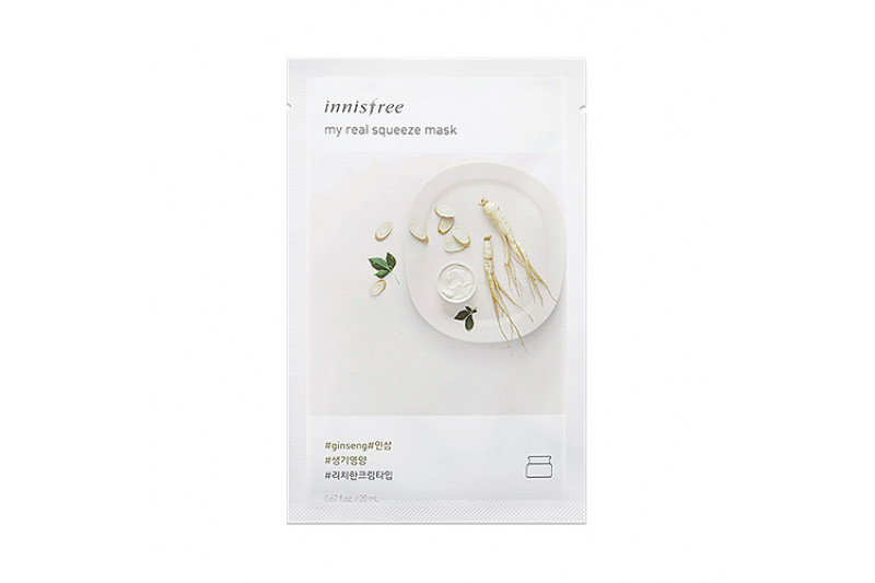 [INNISFREE] My Real Squeeze Mask - 1pcs