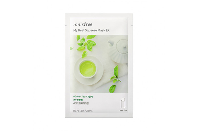 [INNISFREE] My Real Squeeze Mask EX (2019) - 1pcs