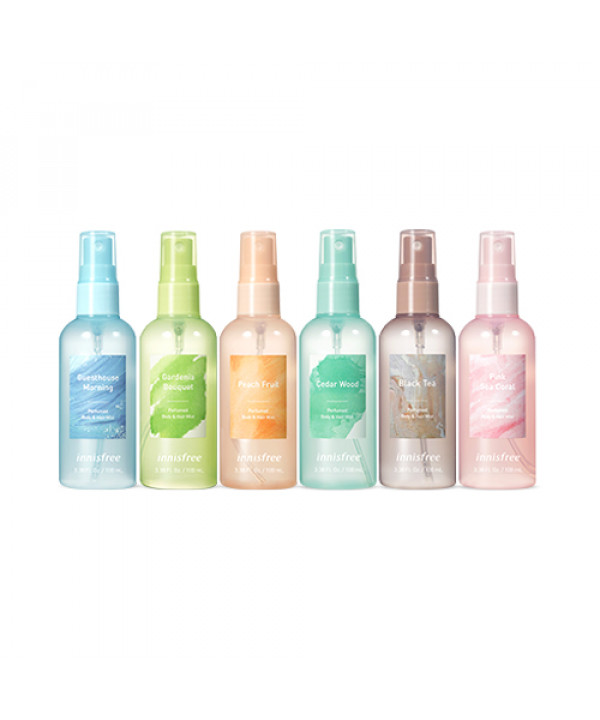 [INNISFREE] Perfumed Body & Hair Mist (2019) - 100ml