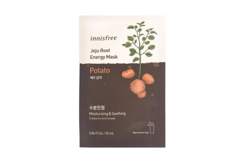 [INNISFREE] Jeju Root Energy Mask - 1pcs