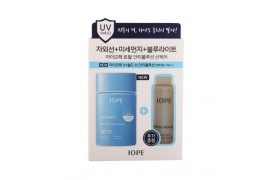W-[IOPE] UV Shield Sun Anti Pollution - 60ml (+Gift 50ml) (SPF50+ PA++) x 10ea