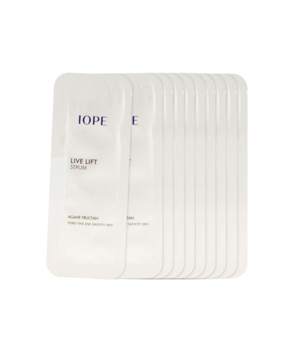 [IOPE_Sample] Live Lift Serum Samples - 10pcs
