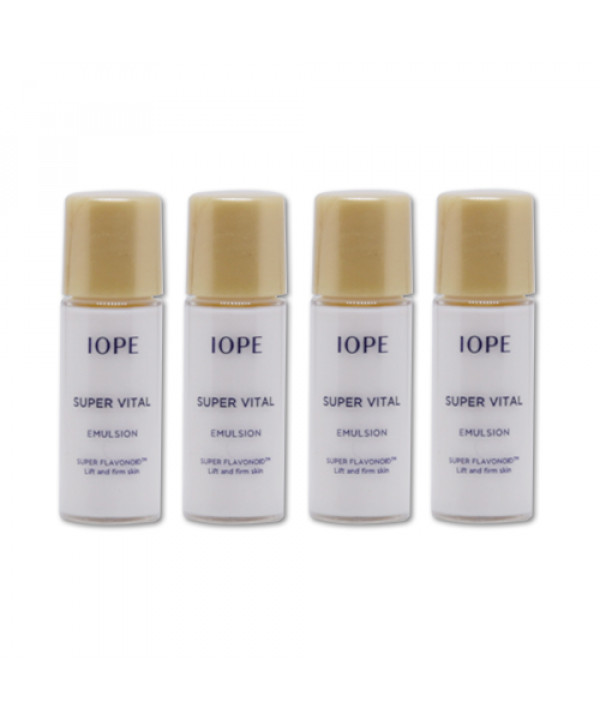 [IOPE_Sample] Super Vital Emulsion Samples - 5ml x 4ea