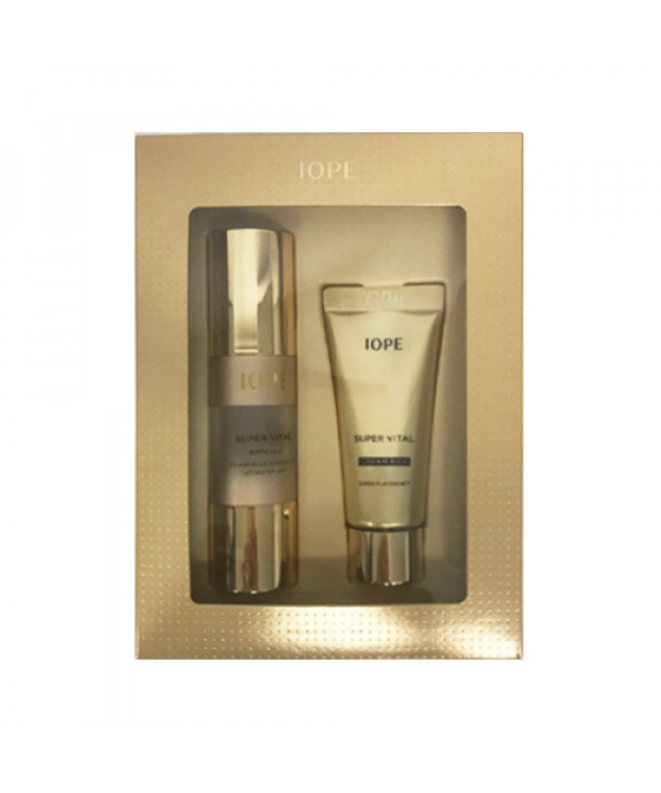 [IOPE_Sample] Super Vital Vip Special Gift Rich Sample - 1pack (2items)
