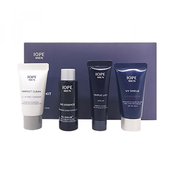 [IOPE_Sample] Men Basic Kit Sample - 1pack (4items)