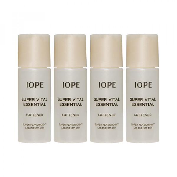 [IOPE_Sample] Super Vital Essential Softener Samples - 5ml x 4ea