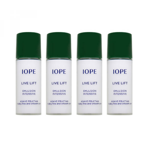 [IOPE_Sample] Live Lift Emulsion Samples (2021) - 5ml x 4ea