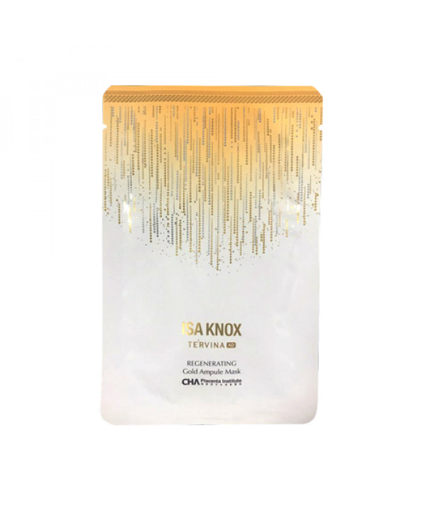 [ISA KNOX] Tervina Regenerating Gold Ampoule Mask - 1pcs