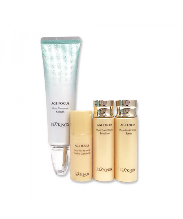 [ISA KNOX] Age Focus Pore Corrector Serum Special Gift - 1pack (4items)