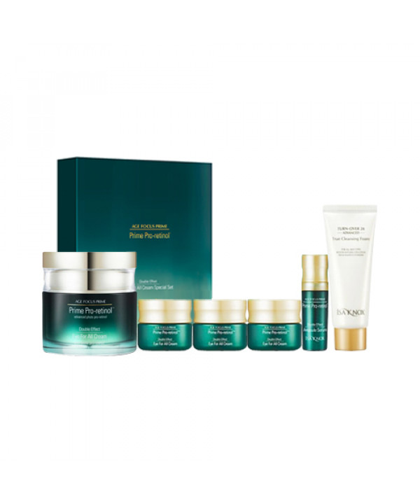 [ISA KNOX] Age Focus Prime Double Effect Eye All Cream Special Set - 1pack (6items)