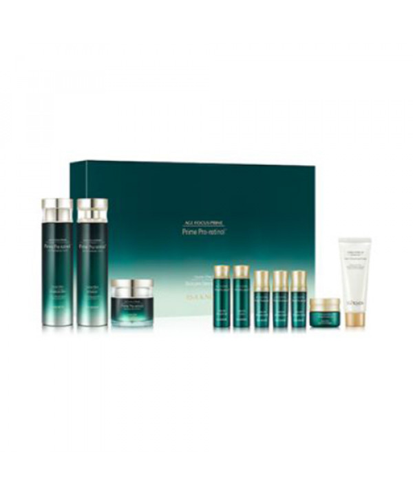 [ISA KNOX] Age Focus Prime Double Effect Skin Care Special Set - 1pack (10items)
