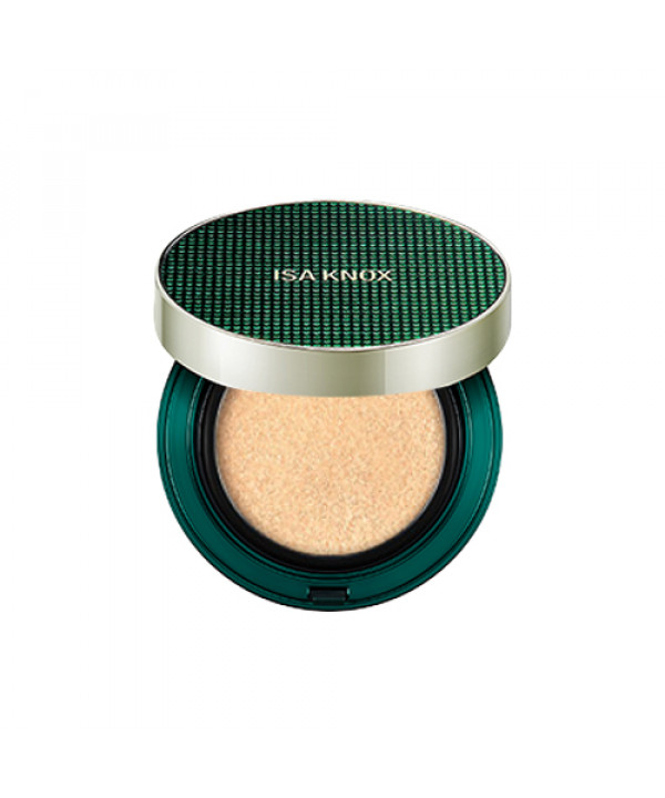 [ISA KNOX] Age Focus Cover Cushion (Green Edition) - 1pack (15g+Refill) (SPF50+ PA++++)