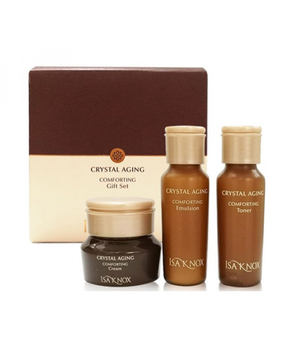 [ISA KNOX_Sample] Crystal Aging Comporting Gift Set Sample - 1pack (3items)