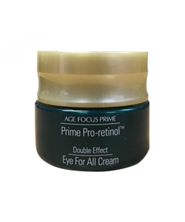 [ISA KNOX_Sample] Age Focus Prime Pro Retinol Double Effect Eye For All Cream Sample - 10ml