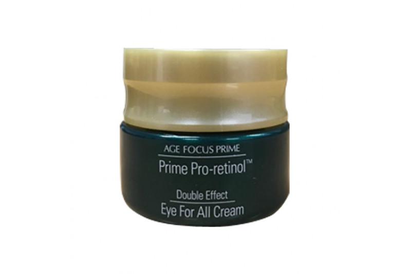 [ISA KNOX_Sample] Age Focus Prime Pro Retinol Double Effect Eye For All Cream Sample - 10ml
