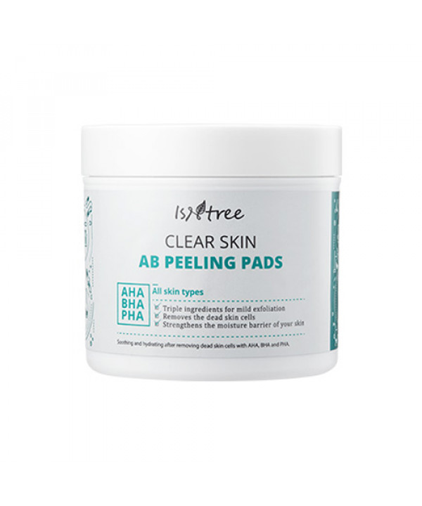 [ISNTREE] Clear Skin AB Peeling Pads - 1pack (70pcs)