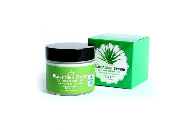 [JIGOTT] Aloe Water Blue Cream - 70ml