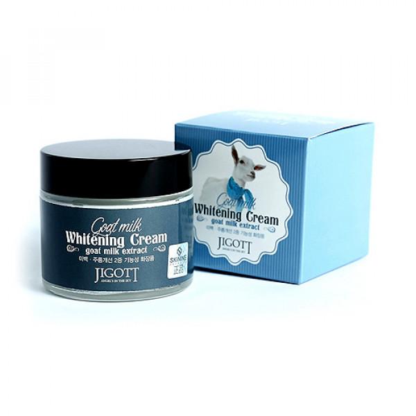 [JIGOTT] Goat Milk Whitening Cream - 70ml