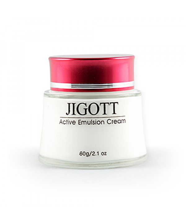 [JIGOTT_LIMITED] Active Emulsion Cream - 60g ( Flawed Box )