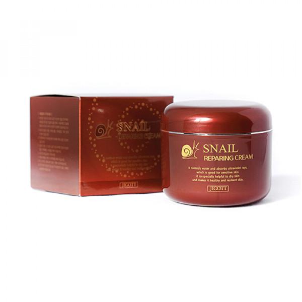 [JIGOTT] Snail Reparing Cream - 100g