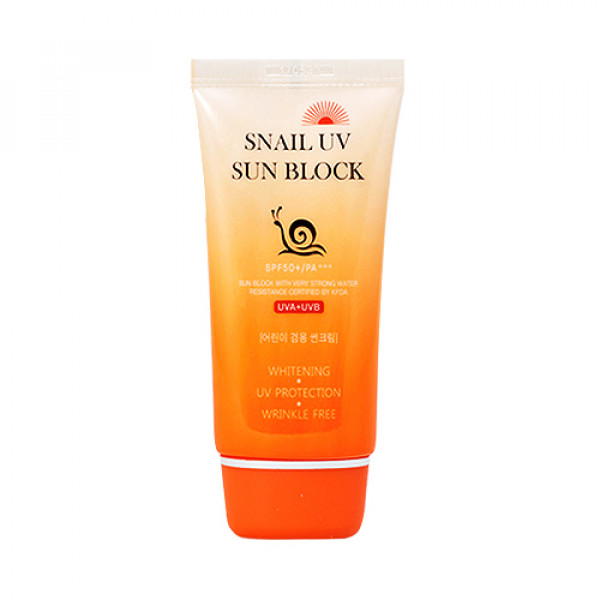 [JIGOTT] Snail UV Sun Block - 70ml (SPF50+ PA+++)