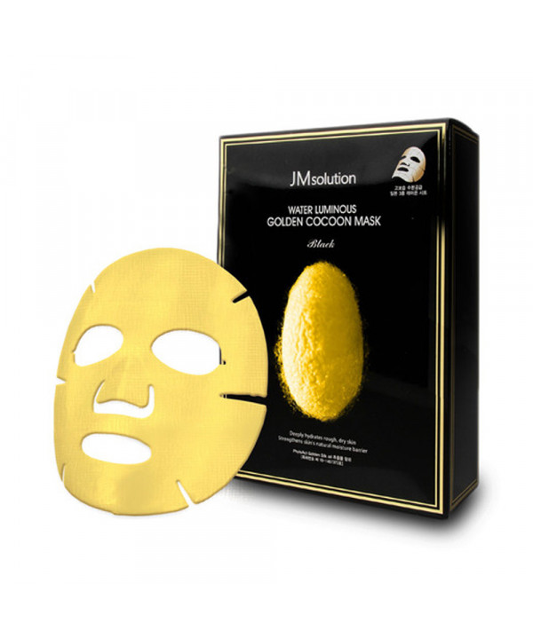 [JMsolution_LIMITED] Water Luminous Golden Cocoon Mask - 1pack (10pcs) ( Flawed Box )