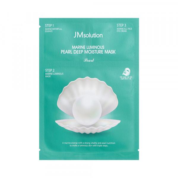 [JMsolution] Marine Luminous Pearl Deep Moisture Mask - 1pack (10pcs)