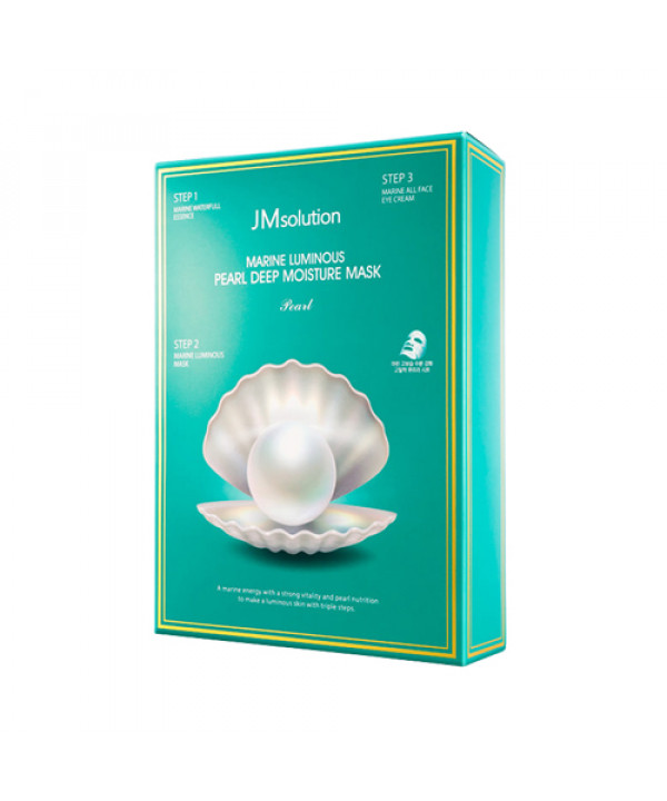 [JMsolution] Marine Luminous Pearl Deep Moisture Mask - 1pack (10pcs)