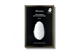[JMsolution] Water Luminous Silky Cocoon Mask Black - 1pack (10pcs)