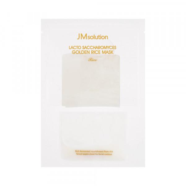 [JMsolution] Lacto Saccharomyces Golden Rice Mask Rice - 1pack (10pcs)